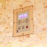 1101-200, sauna, 200x200x210cm. _