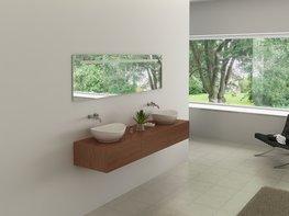 2-Persoons hout decor badkamermeubel. Type BL9009
