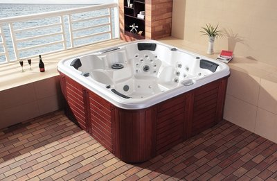 Outdoor spa. Type 192-Wh/Re