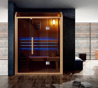 Sauna met HARVIA kachel. Type WS1509