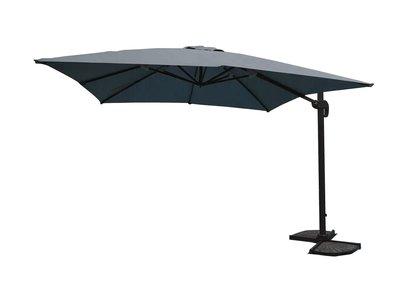 Parasol hangend, aluminium, donker grijs,U1072DG