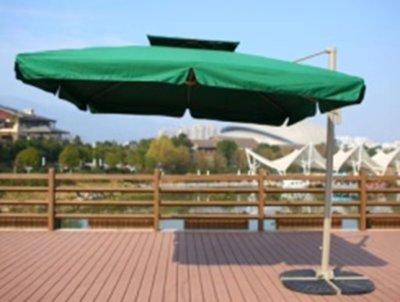 Hangende parasol. Type 201803 GREEN.