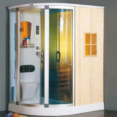 ZS2010 Sauna met douche/Saunahouse 1600x1200x2150mm