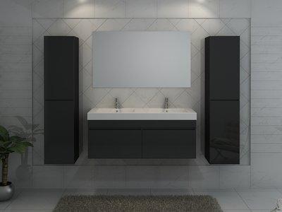 2 persoons badkamermeubel. type b1420black huis & tuin planet