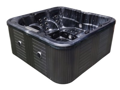 Outdoor Spa Cloud Black 2 BED