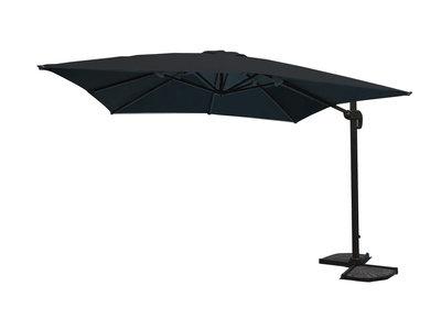 Parasol hangend, aluminium, donker grijs,U1072zwart