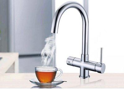 3-in-1 Kokend water kraan - Verchroomd RVS