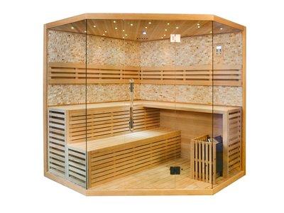 1101-200, sauna, 200x200x210cm.