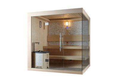Sauna met HARVIA  kachel. Type WS1245